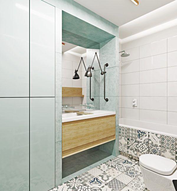 2个裸露砖墙特色的现代装修设计