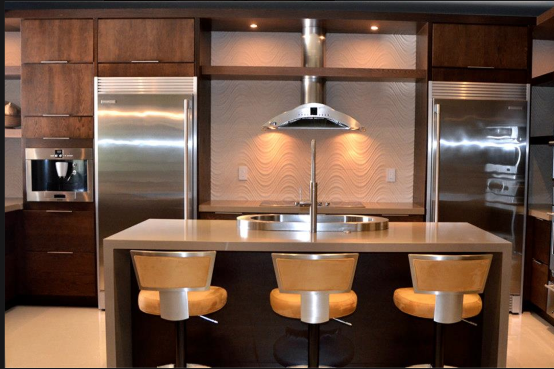 Delightful Showplace Contemporary Cabinetry   Kabco Kitchens Miami
