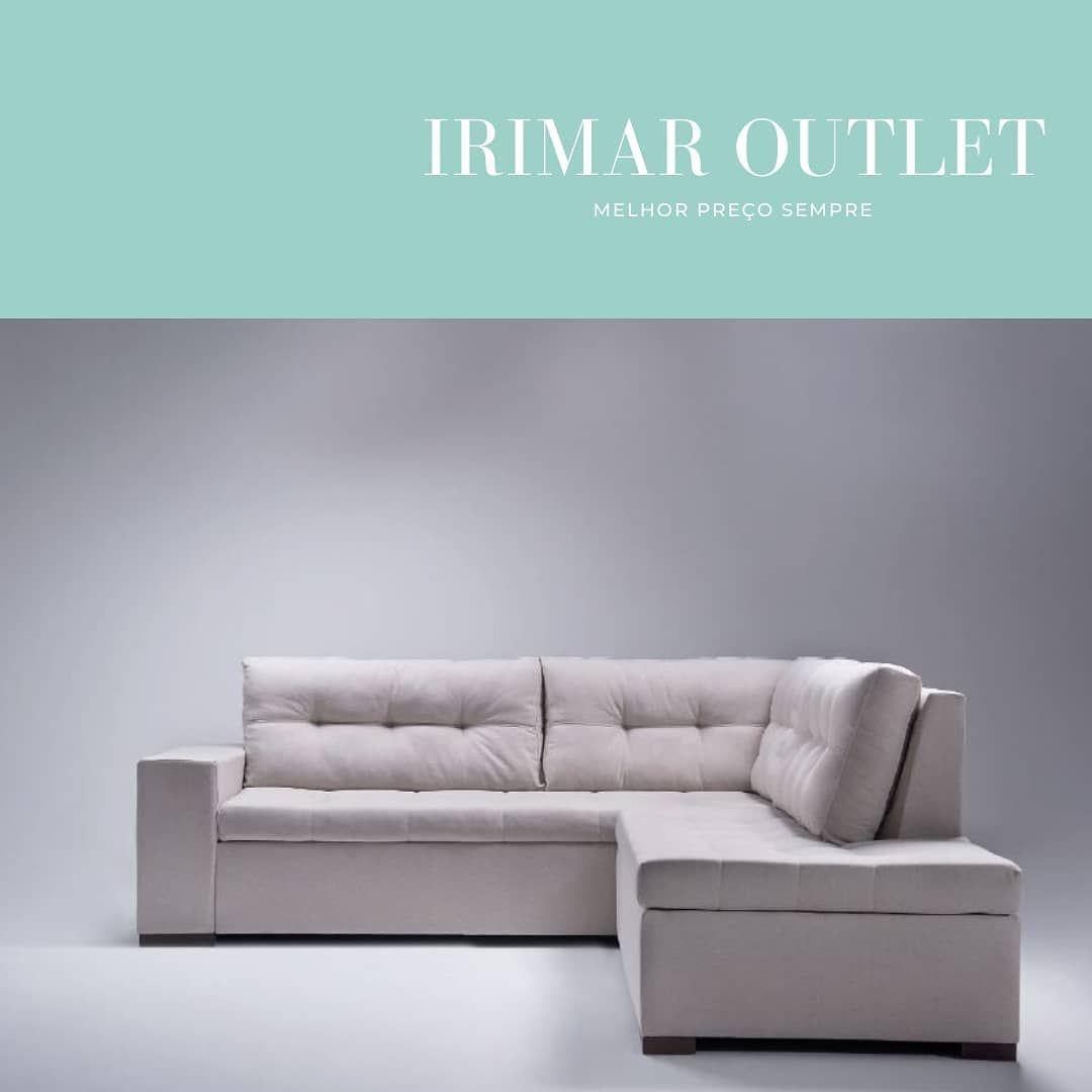 Irimar Outlet No Instagram Quem Disse Que Sofa De Canto So Cabe Em Ambientes Grandes Esse Nosso Modelo E Especialmente Pensado P In 2020 Sectional Couch Couch Sofa