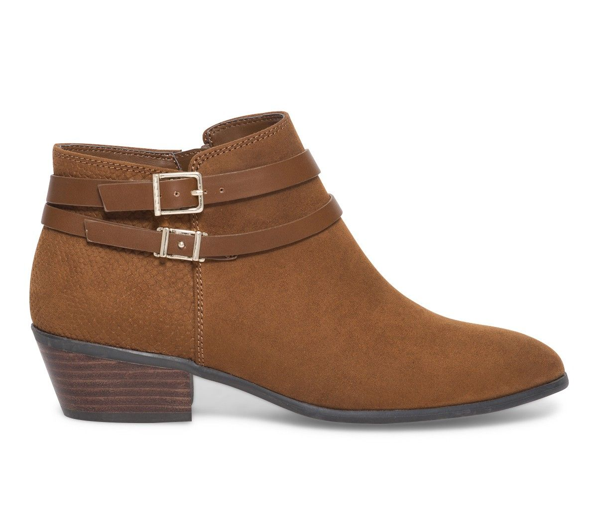 7a7bdb56f6a Boots brides camel - Boots   bottines - Chaussures femme