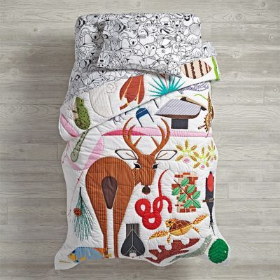 Waverley's new bedding -Charley Harper Artist Collection | The Land of Nod