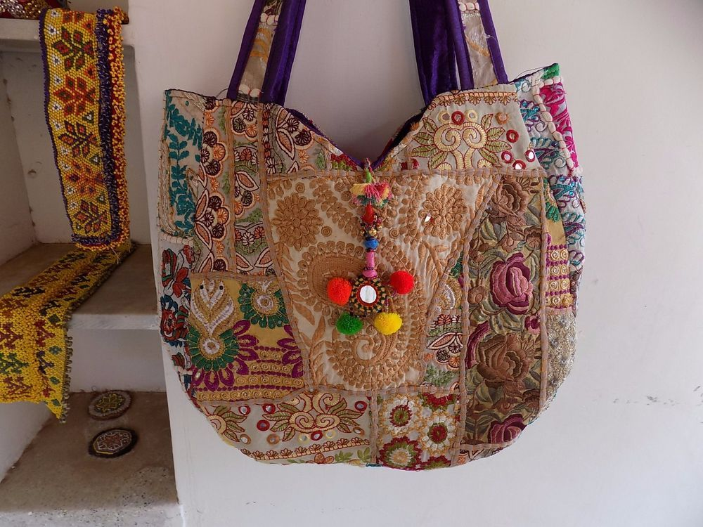 ee23503660 INDIAN VINTAGE BANJARA Shoulder Bags ETHNIC BOHEMIAN GYPSY trendy BAG SM249   Handmade  ShoulderBag