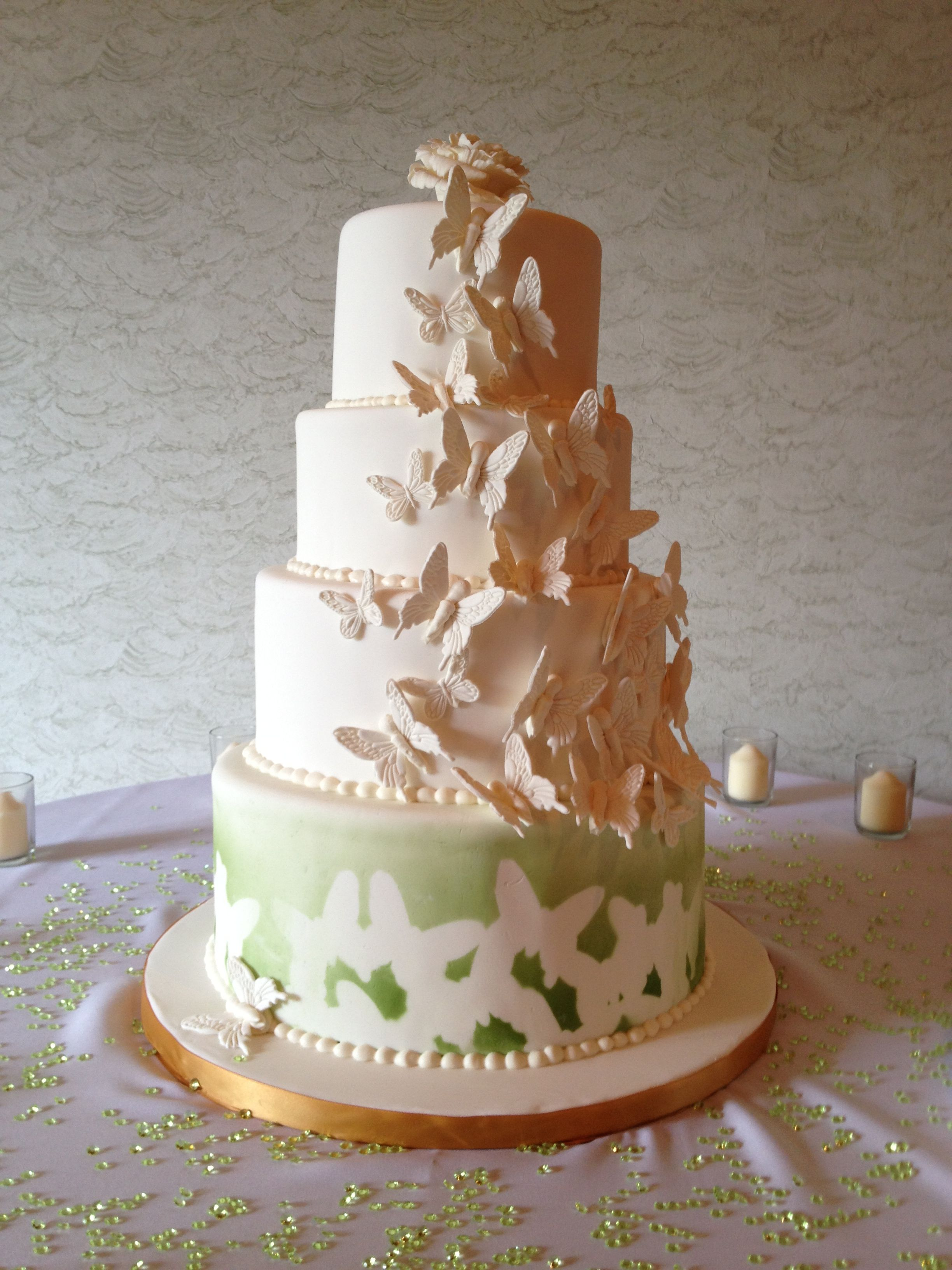 Butterfly Wedding Cake Butterfly Wedding Cake Wedding Cakes Butterfly Wedding
