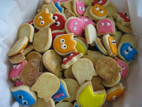 Pac-Man Cookies