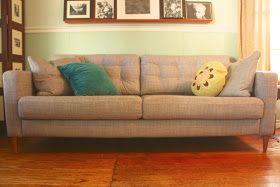 My So- Called Handmade Life: Sofa Hack