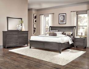 Commentary Wing Storage Bedroom Set Steel En 2019
