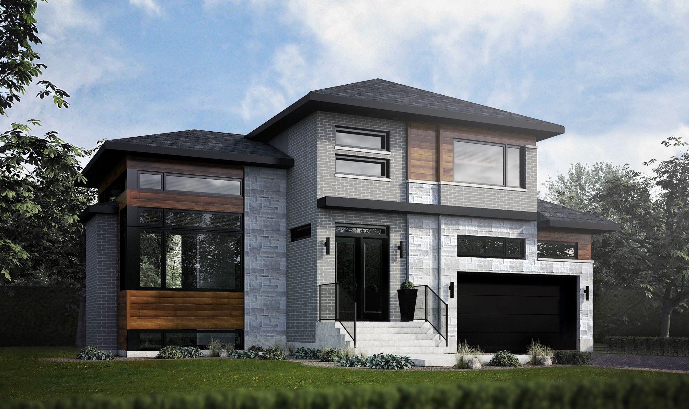Maison neuve rive sud avie home for Maison neuve design