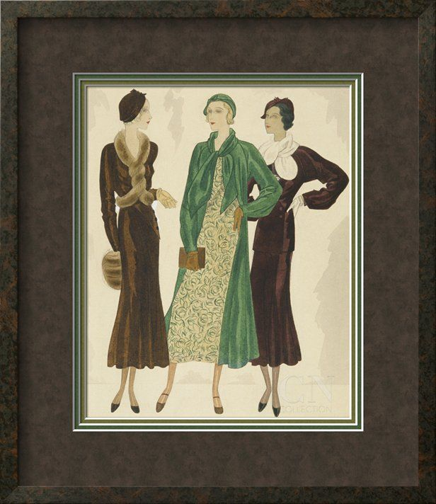 Vogue - October 1931 Poster Print by William Bolin at the Condé Nast Collection