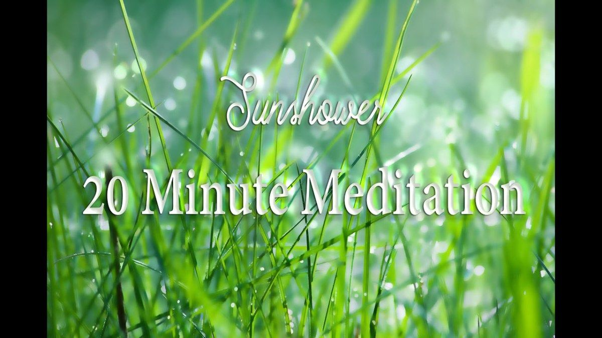 20 Minute Meditation Rain Sounds Relaxation meditation