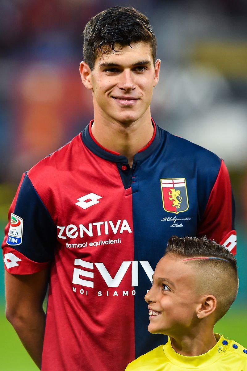 Pietro Pellegri Genoa Cfc V Ac Chievo Verona Serie A Football Club Genoa Cfc As Roma