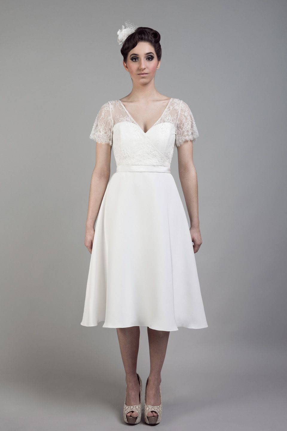 Adventure the new collection of short wedding dresses by tobi