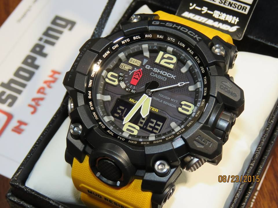 097d932d85f Casio G-Shock 5463 module Mudmaster GWG-1000-1A9JF
