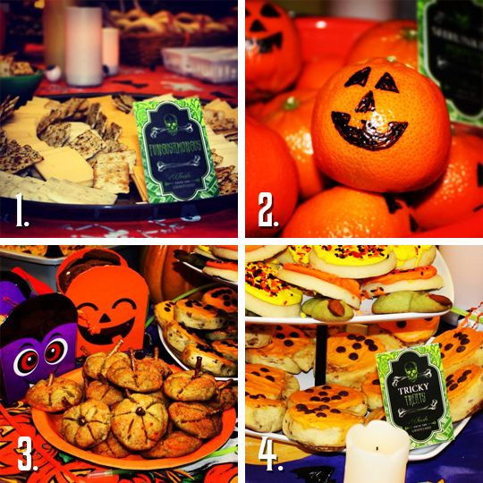 Creepy Food Ideas for a Halloween Party | Creepy food and ...