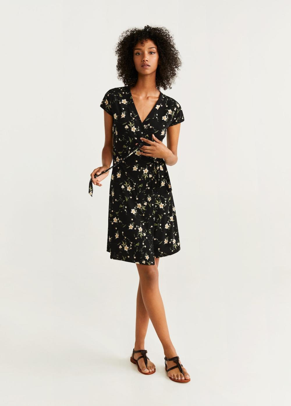 Wrap Dress Women Mango Usa Fashion Mango Fashion Womens Dresses