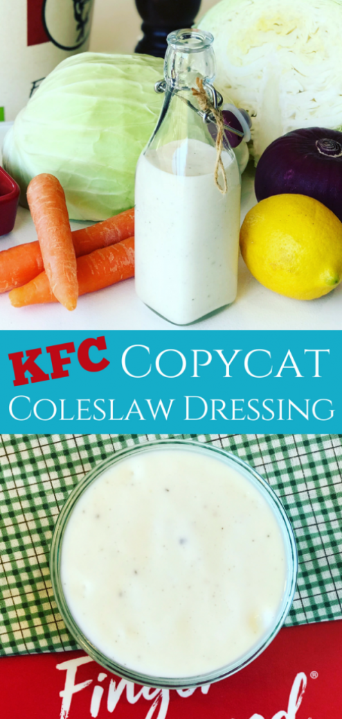 Making Coleslaw Dressing is so cheap and easy you'll never buy Kraft again! Plus you get the familiar taste of a great tasting Coleslaw Dressing a sweet and tangy copycat dressing.