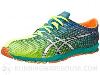 acheter pas cher 097e4 65516 ASICS Piranha SP 5 Men's Shoes Yellow/Silver/Blue | Running ...