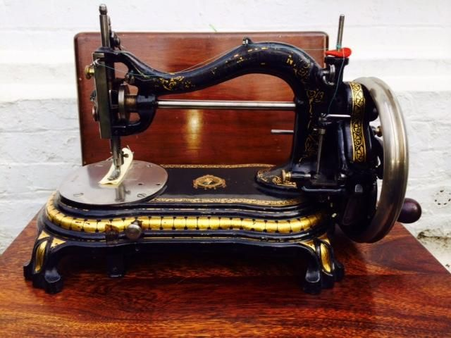 Bradbury Duke Of Wellington Sewing Machine Antique And Ve For Sale Classy Sewing Machine Wellington