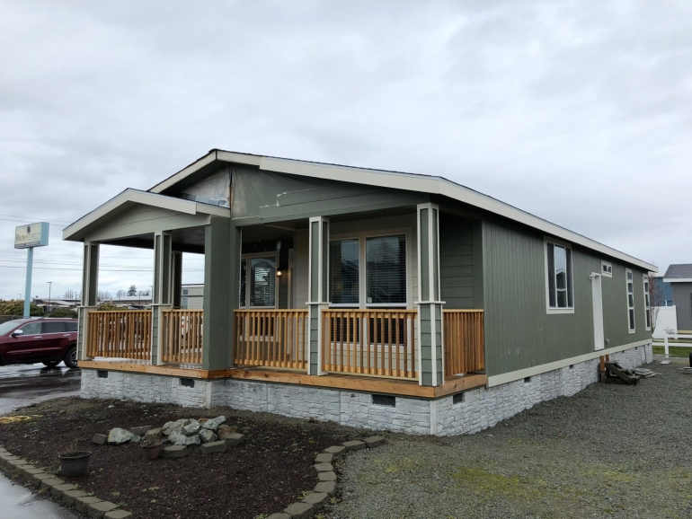 Goldenwest Spruce Modular Home Builders Mobile Home Exteriors Modular Homes
