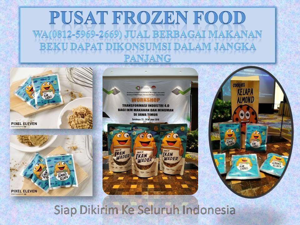 Title Dengan Gambar Makanan Beku Frozen Makanan