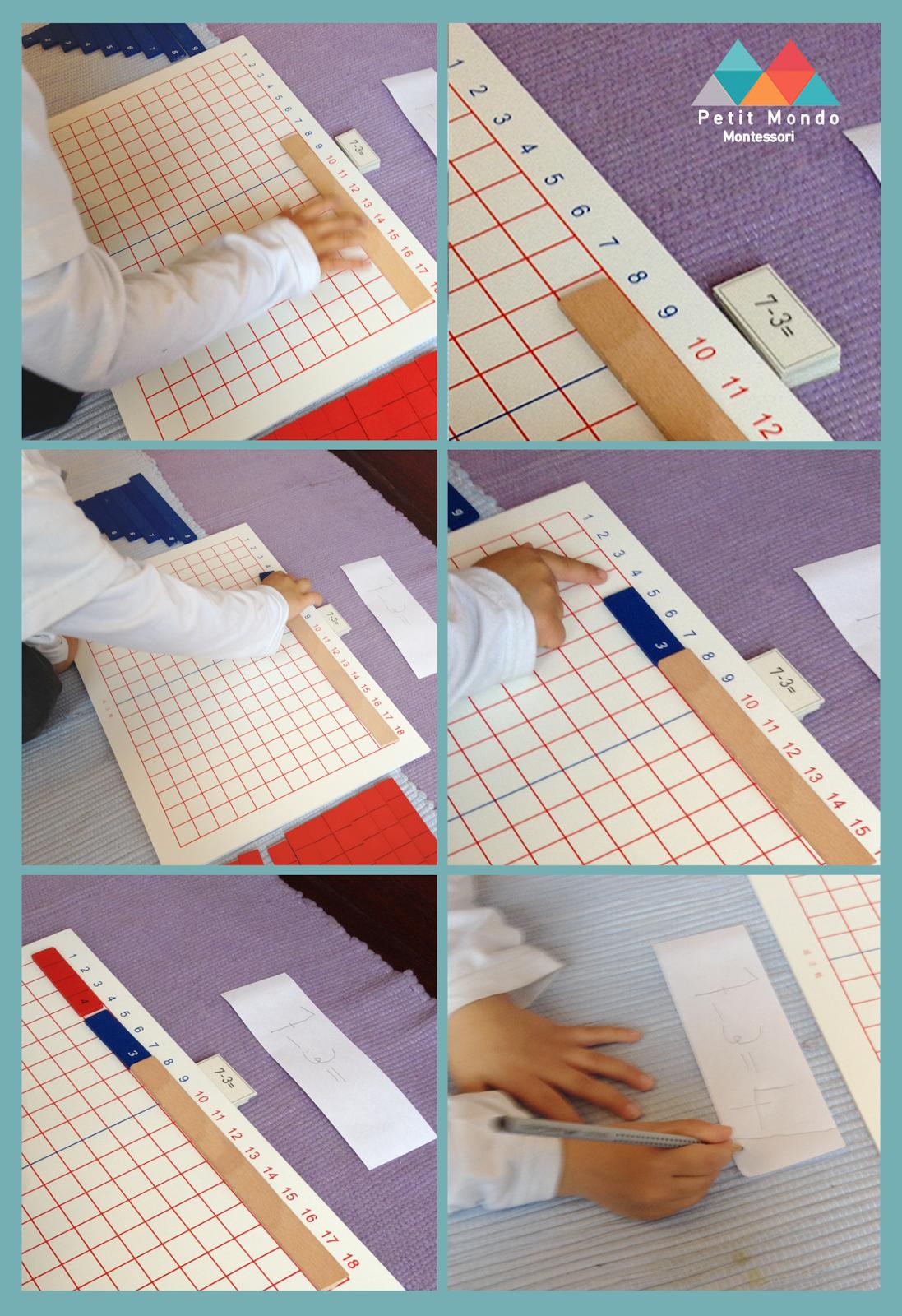 Pin Do A Petit Mondo Montessori Portugal Em Matematica