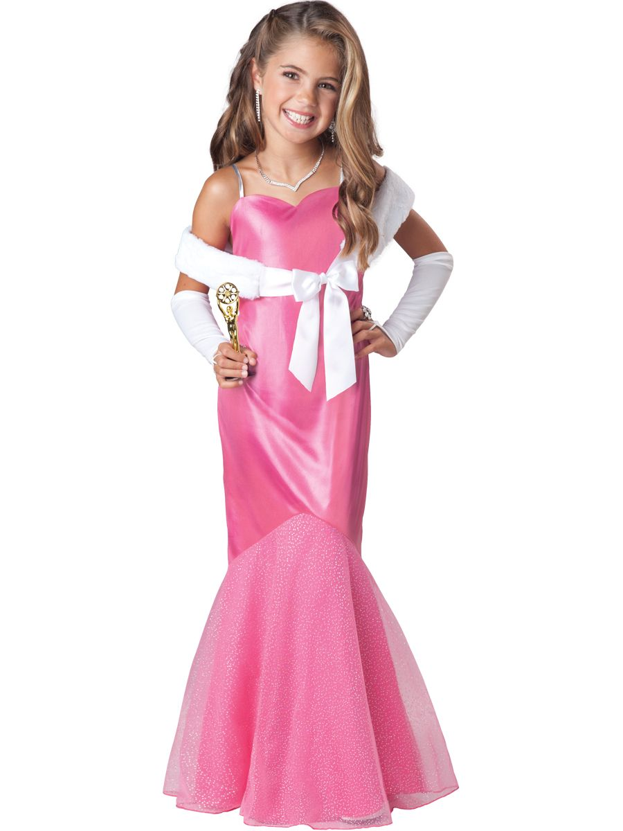 Girl\'s Best Actress Costume. 6, 8, 10. $33 | Hallowen coustmes ...