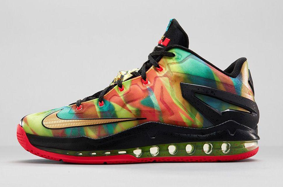 "Releasing in US: Nike LeBron 11 Low SE ""Multicolor†(Championship) - EU  Kicks: Sneaker Magazine"
