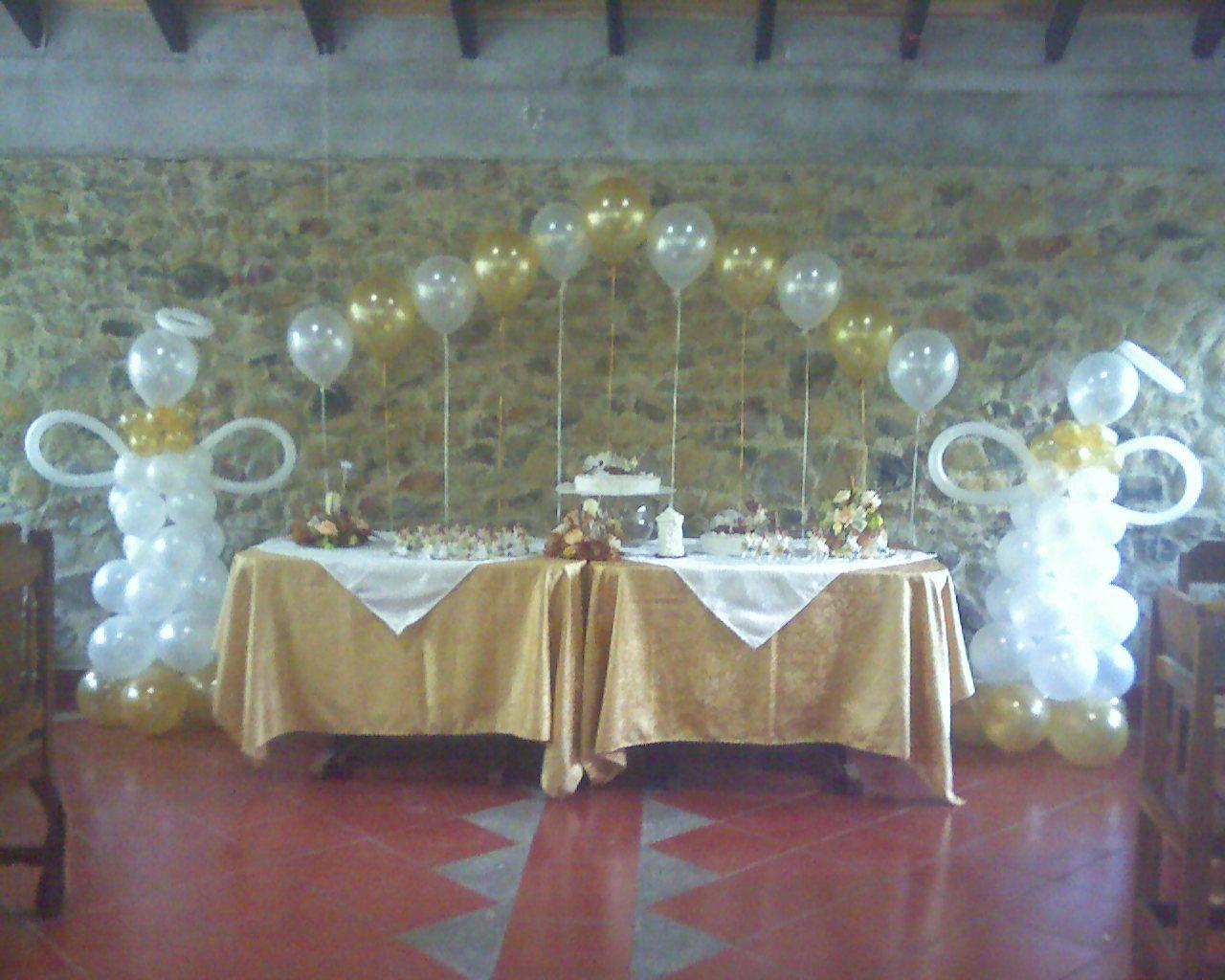 Casa de eventos castillo de luna primera comunion - Decoracion comunion en casa ...