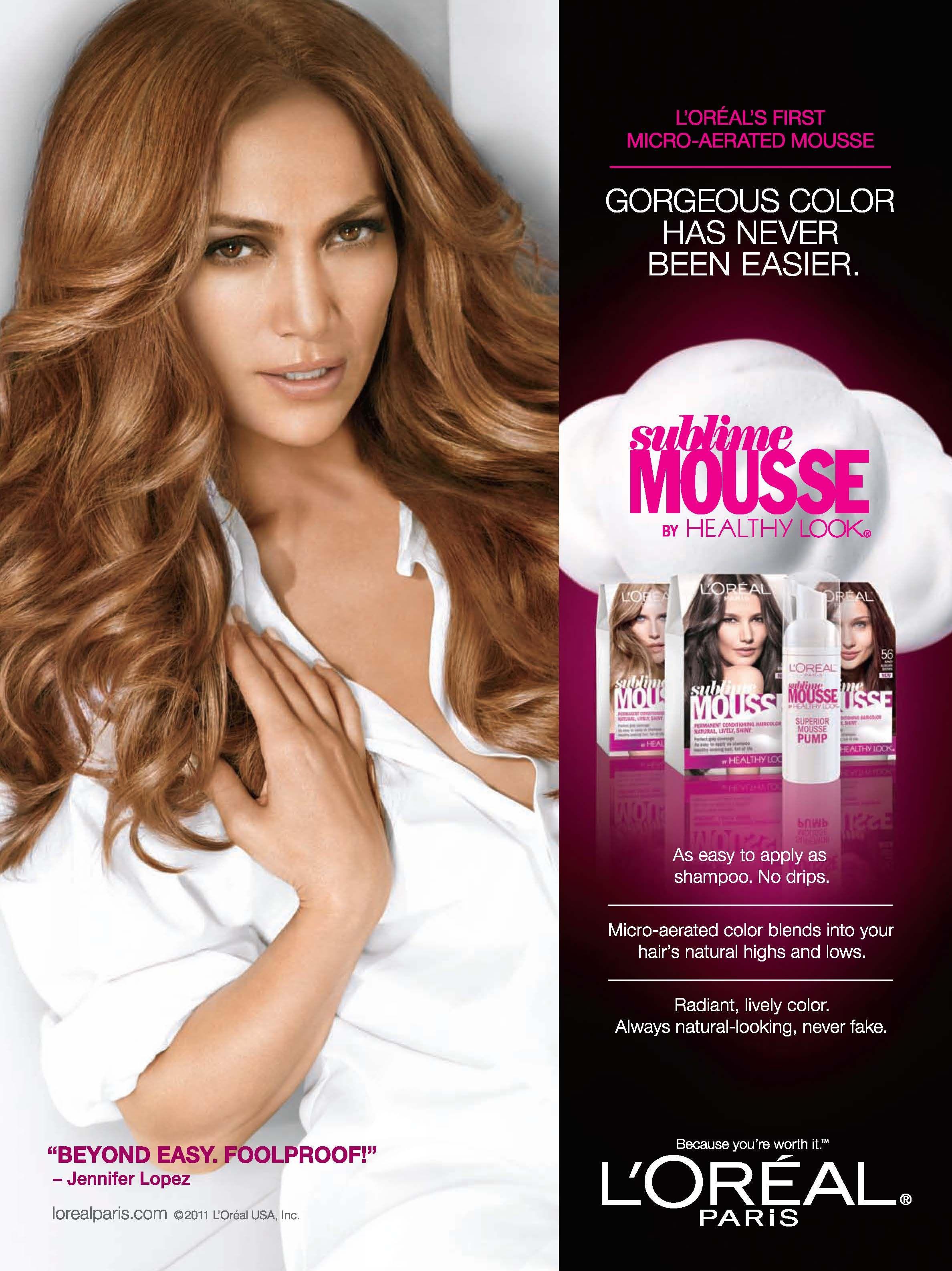 Jennifer lopez sublime mousse hair color jennifer lopez jennifer lopez sublime mousse hair color altavistaventures Choice Image