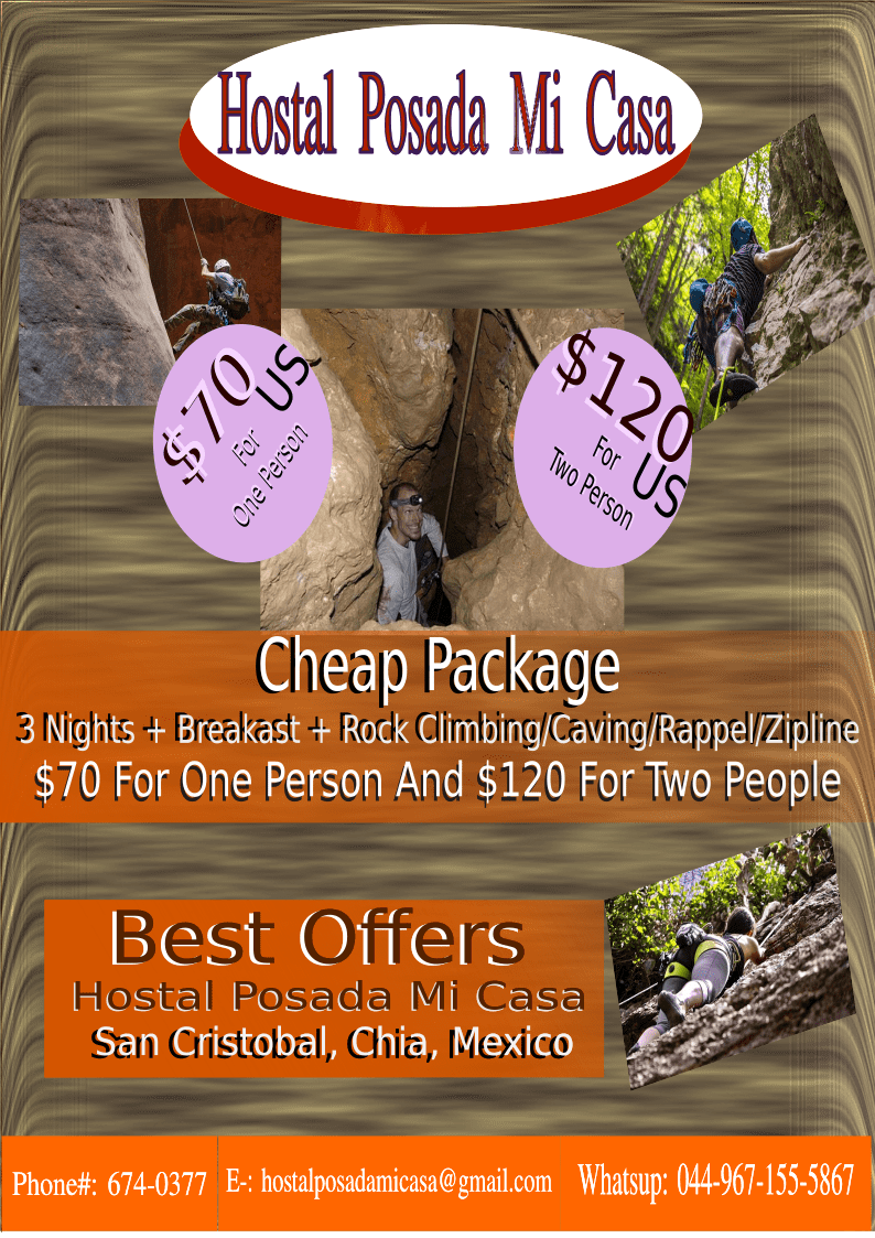 Check Out The Special Package From Hostal Posada Mi Casa 3