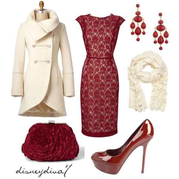 Christmas Party Apparel!  Would never wear the heels but other than that... PRETTY