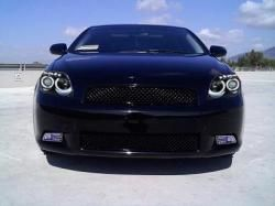 Halo Headlights On Blacked Out Scion Tc Pretty Much Have To Have