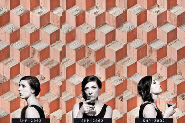 "Madame Patina Panel ""Cube"""
