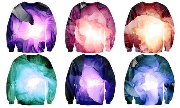 Sweater designs with Processing generated prints