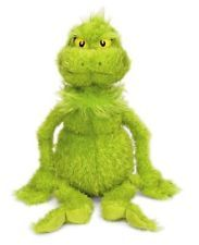 Dr.Seuss The Grinch Who Stole Christmas and Max Soft Toys by Manhattan Toys