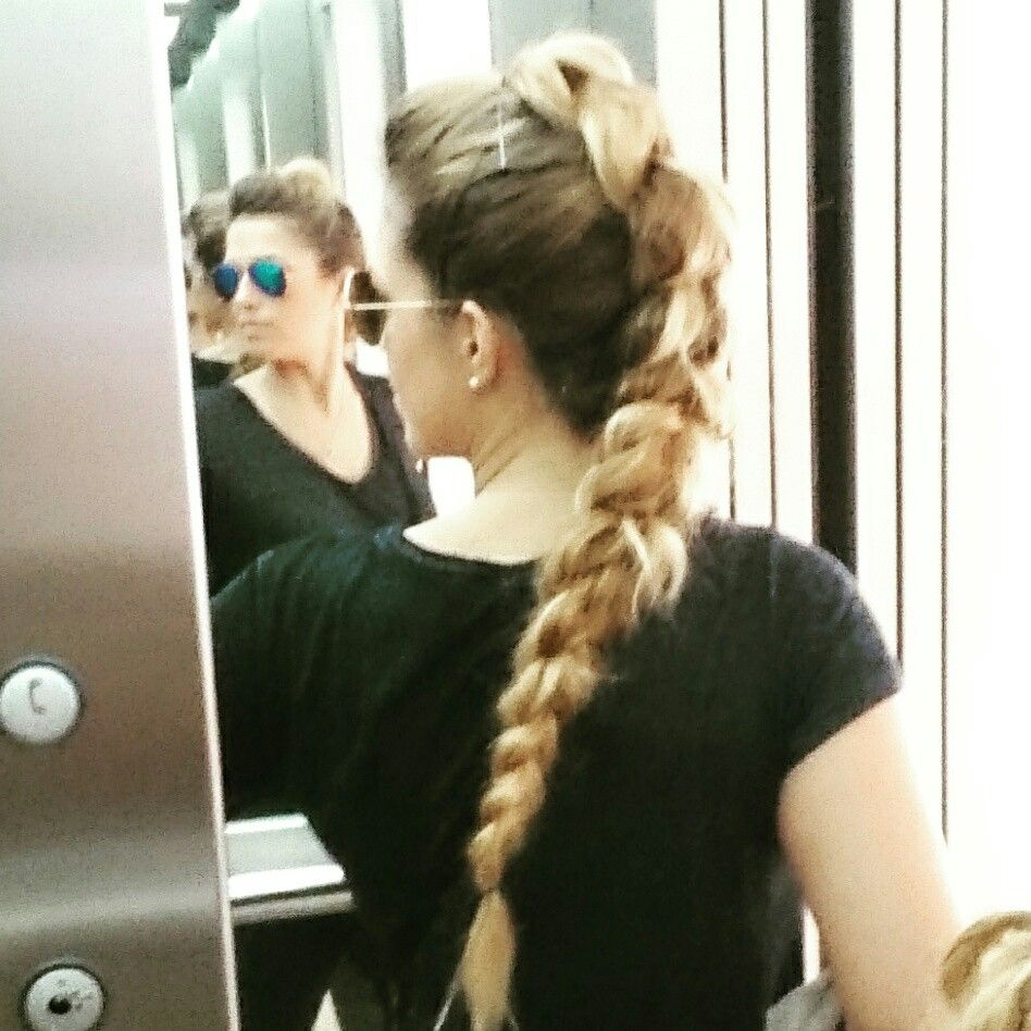 Mohawk braid st attempt hair pinterest mohawks