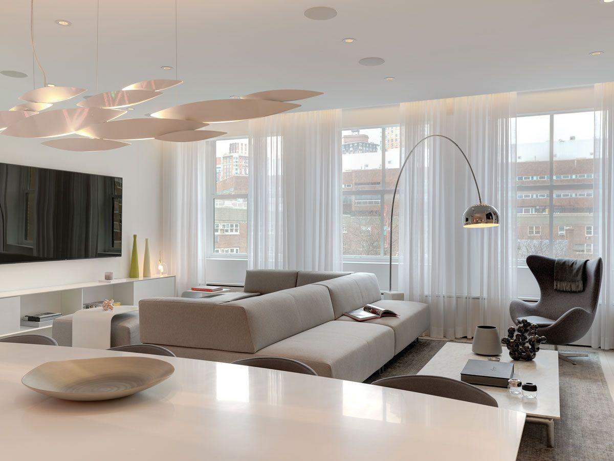 Tribeca Loft 1 12 00 Furnishing In 2019 Modern Sofa