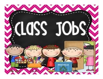 Here is a poster to label your Class Jobs in your classroom!  This matches my EDITABLE Chevron Classroom Jobs set. Grab it here:https://www.teacherspayteachers.com/Product/EDITABLE-Chevron-Chalkboard-Classroom-Jobs-1928792I hope you enjoy this FREEBIE!