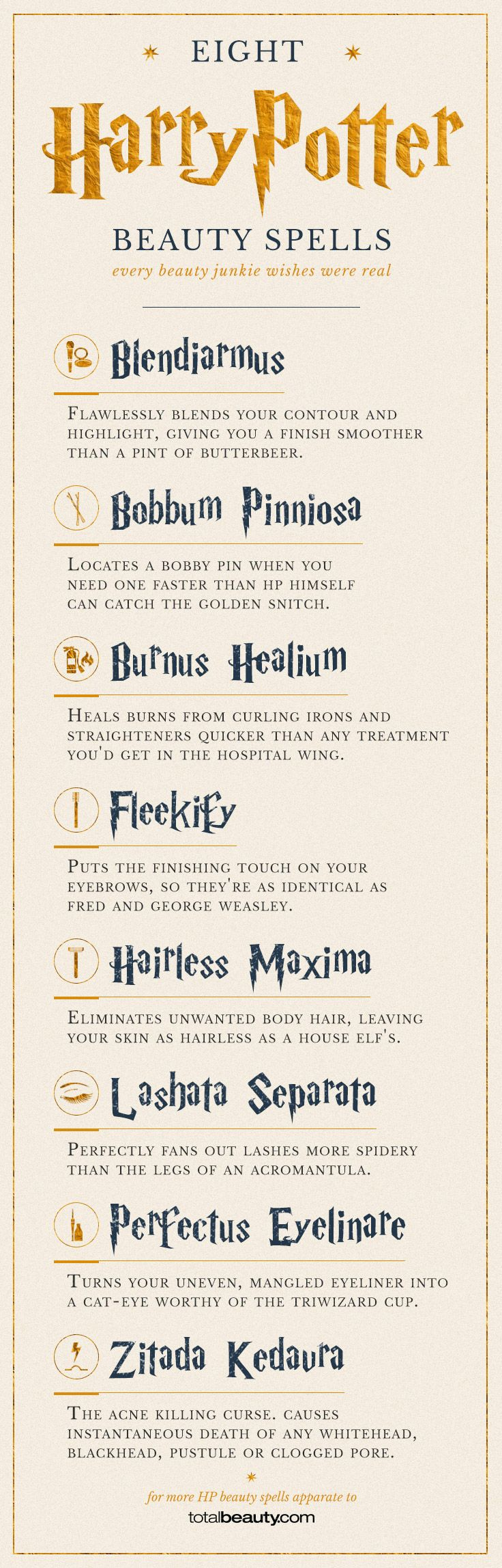 20 Harry Potter Spells Every Beauty Junkie Wishes Were Real | Beauty