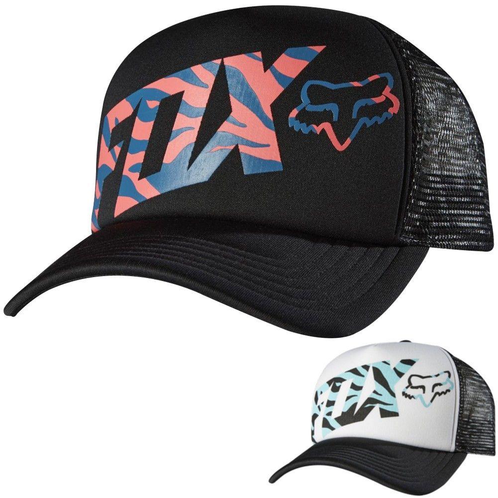 Fox Racing Magnificent Women s Ladies Cap Trucker Casual Hat  49a3f1a7b0f8
