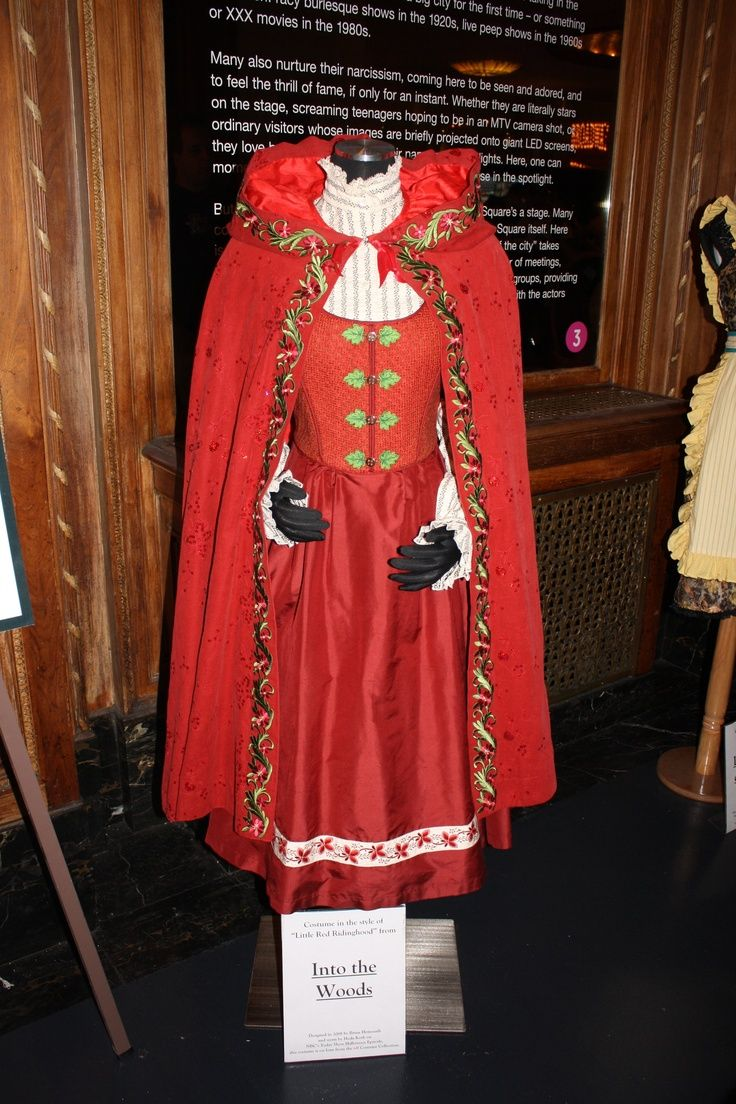 Into The Woods Red Riding Hood Movie Tv Costumes