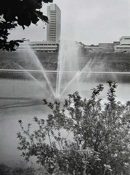 Vilnius 1945   1990  Sovietmečio Nuotraukos  I48 Wilia Fontanna 80te
