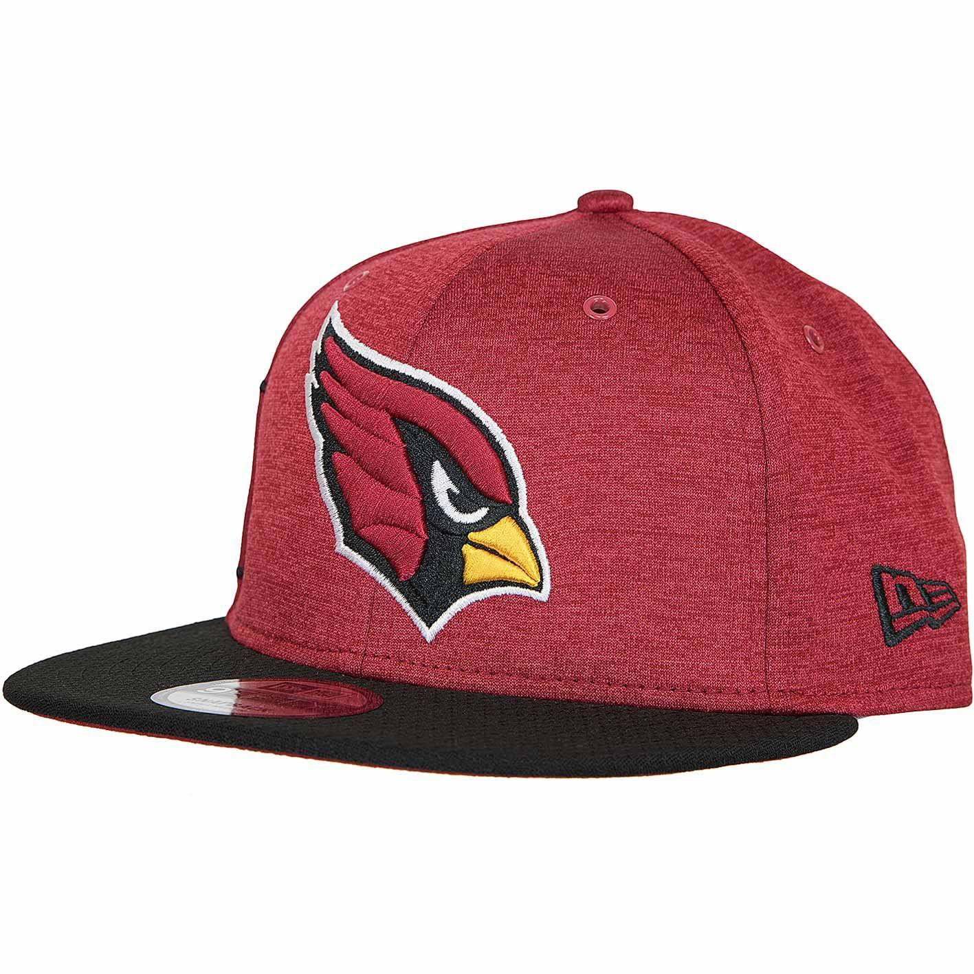 New Era 9fifty Snapback Cap Onfield Home Arizona Cardinals Rot Schwarz Hier Bestellen Arizona Cardinals Snapback Cap Snapback