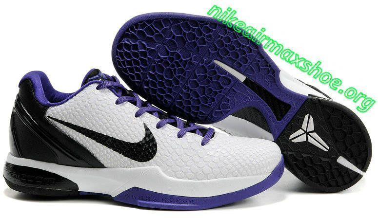 213edf1250db Nike kobe 6 VI Light Grey Violet Black 436311 100