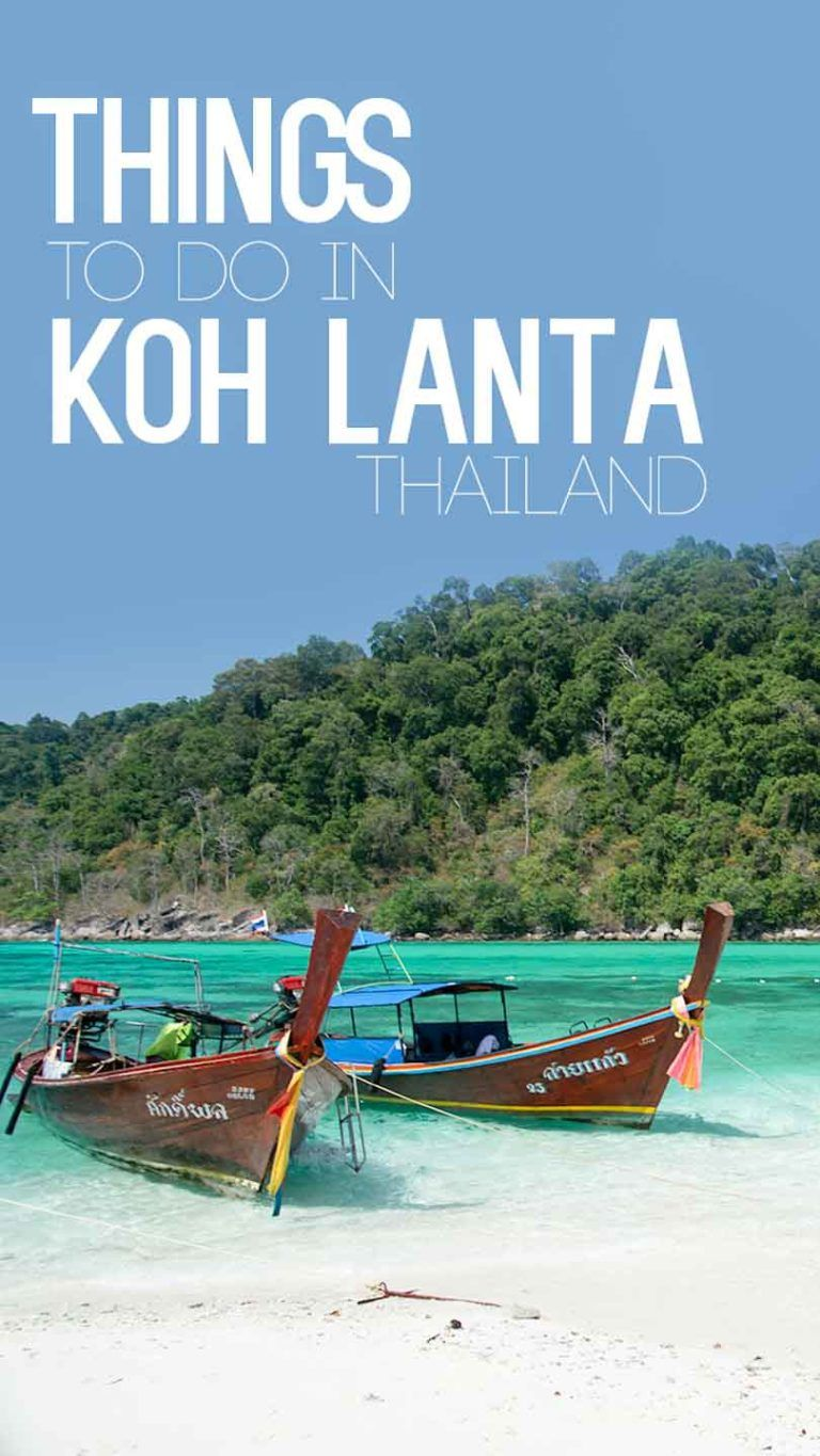 10 Things to do in Koh Lanta, Thailand Thailand travel