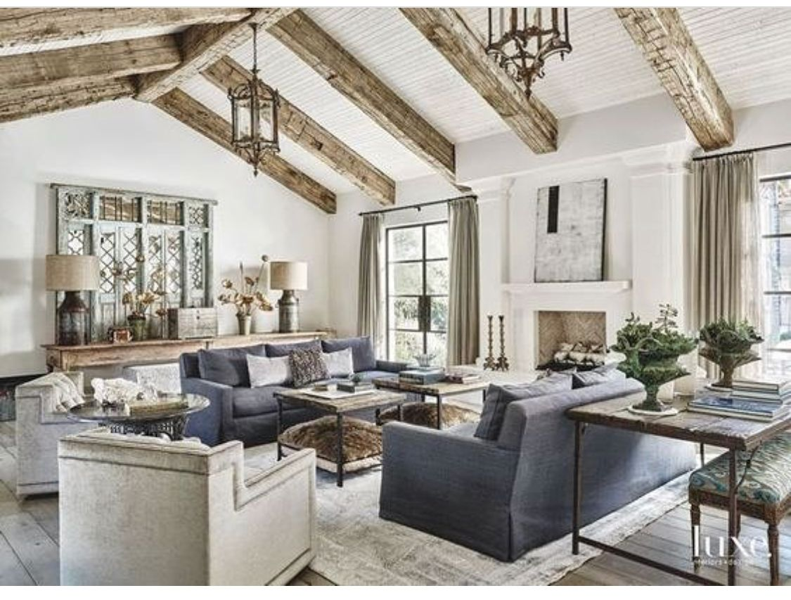 Family Room Beams Living Room S Fireplace S Pinterest Beams