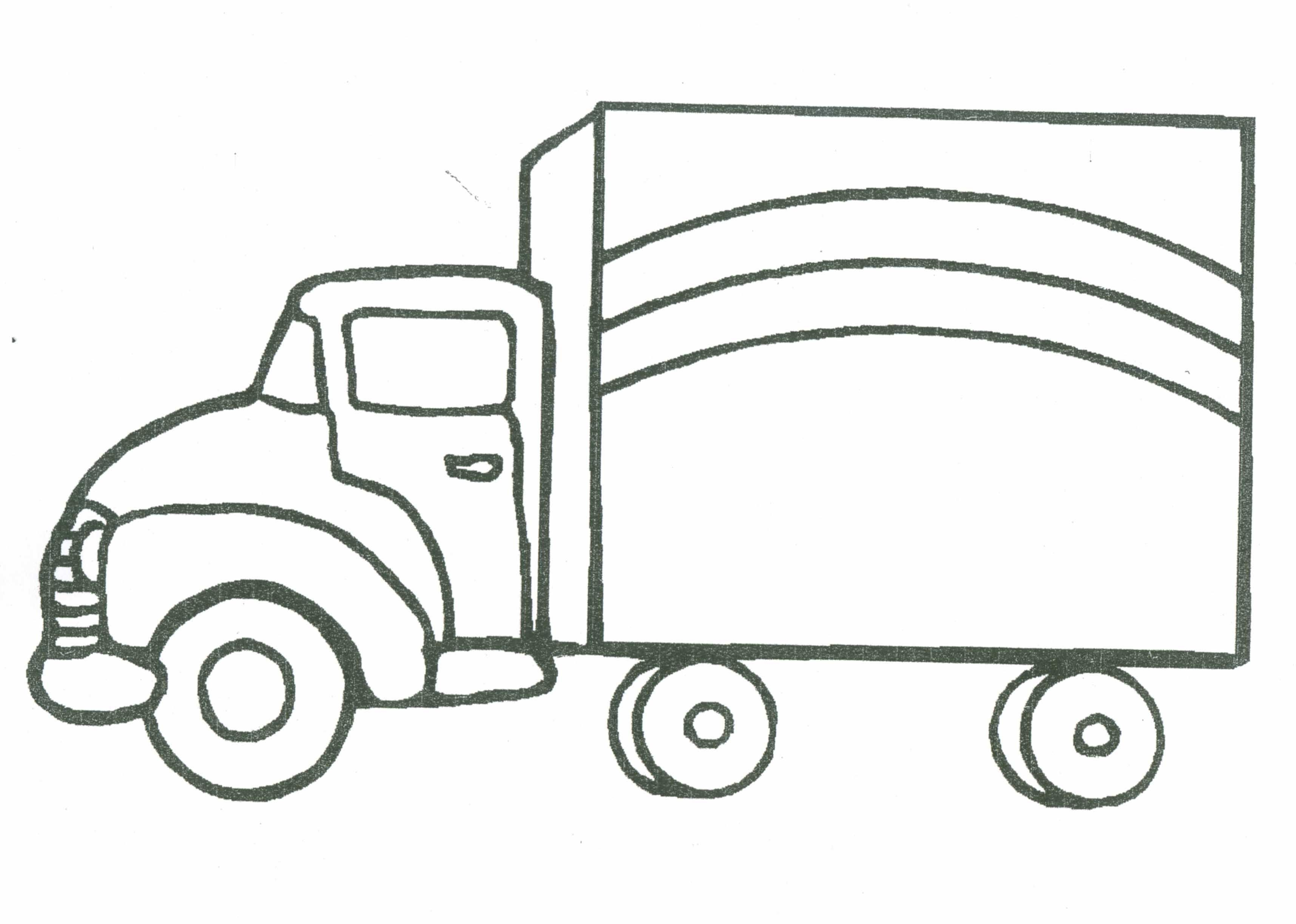Lorry Colouring Pages Rescue