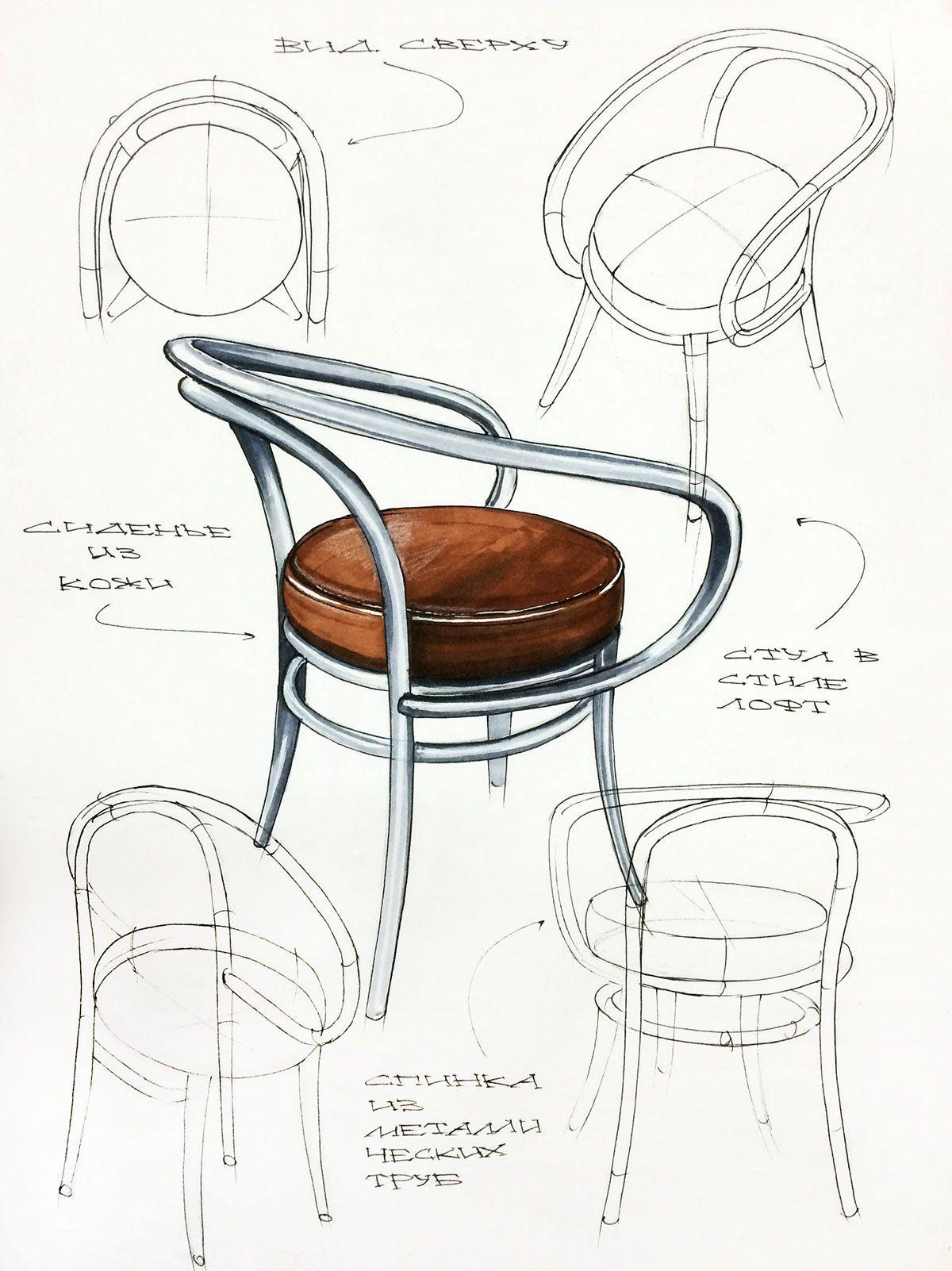 sasha balyabina on behance | industrial design | pinterest ... - Ausgefallene Mobel Wie Skizziert Design Jinil Park