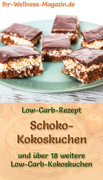 Photo of Low Carb Schoko-Kokoskuchen – einfaches Rezept ohne Zucker