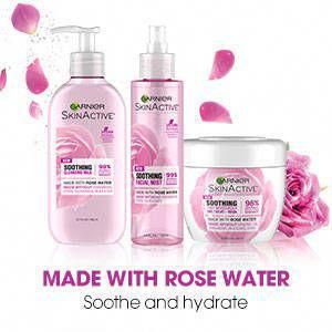 Garnier Skinactive Soothing 3 In 1 Face Moisturizer With Rose Water