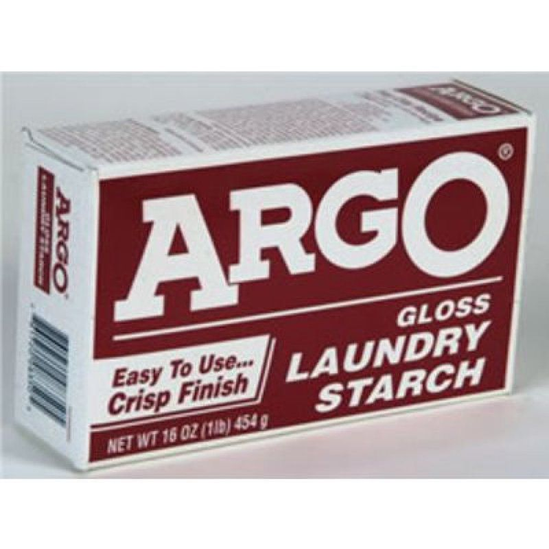 Just Like Always Argo Starch Leaves Shirts And Linens With A